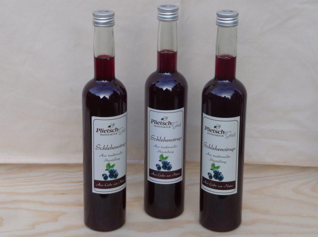 Schlehensaft-schlehensirup-schlehe getränk-schlehe vitamin