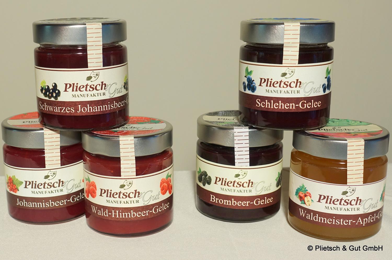 Fruchtgelee von Plietsch + Gut